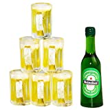 Wayees Miniature Beer Bottles Beer Mugs for 21st Birthday Cake Toppers Dollhouse Decoration Craft Design Project