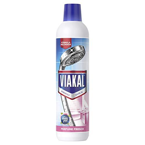 Viakal Limpiador Antical Gel para Baño, 750 ml, Perfume Fresco AmbiPur