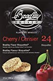 Bradley Smoker 106690 Cherry Bisquettes Smoker, 24-Pack