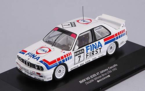 per BMW M3 (E30) N.7 DOUBLE WINNER BRNO DTM 1992 JOHNNY CECOTTO 1:43 - CMR Classic Model Replicars - Auto Competizione - Die Cast - Modellino