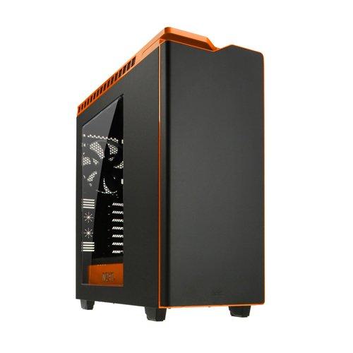 NZXT Technologies H440 - Caja para CPU, Color Naranja y Negro