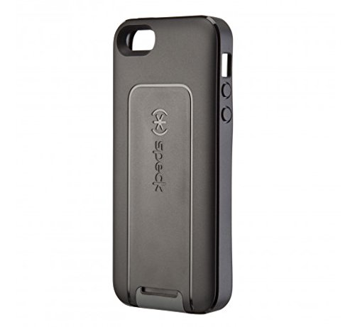 Speck Products SmartFlex View Case for iPhone 5, 5S & SE - Black/Black/Slate Grey