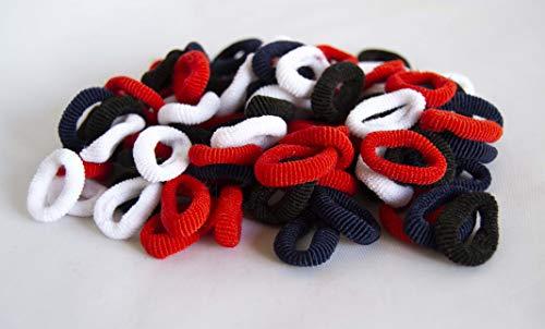 Pack de 70 gommes Mini Blanc, rouge, Bleu Marine et noir. envoi gratuit 72h