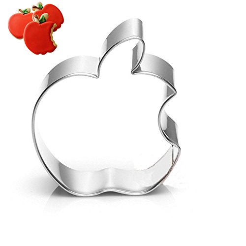 GXHUANG Bite Eat Apple Cookie Cutter - Stainless Steel