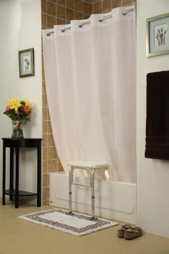 popular Simplicity wholesale outlet sale Transfer Bench Shower Curtain(Color=White) online sale