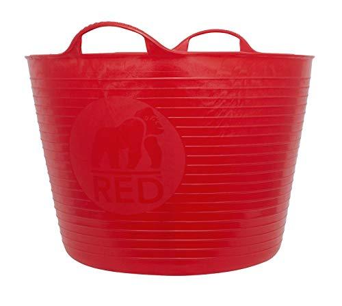 TUBTRUGS Large 10 Tub, 10 gallon, Red