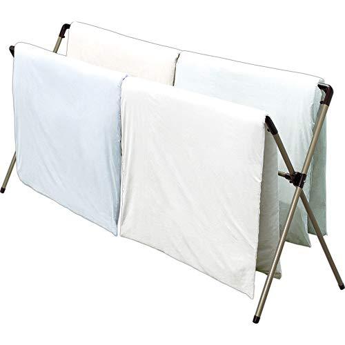 アイリスオーヤマ 物干し 布団干し 4枚干し アルミ 幅約146~240×奥行約82×高さ約118�p AFX240R