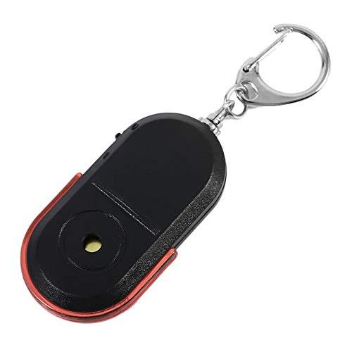 Appearancees Porte-clés anti-perte avec alarme et sifflet sonore et lumière LED