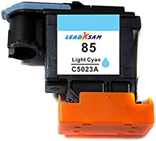 6X Compatible printhead for hp84 for hp85 C5019A C9420A C9421A C9422A C9423A C9424A Print Head Replace for HP 84 85 30 90R 130 (Light Cyan x1)