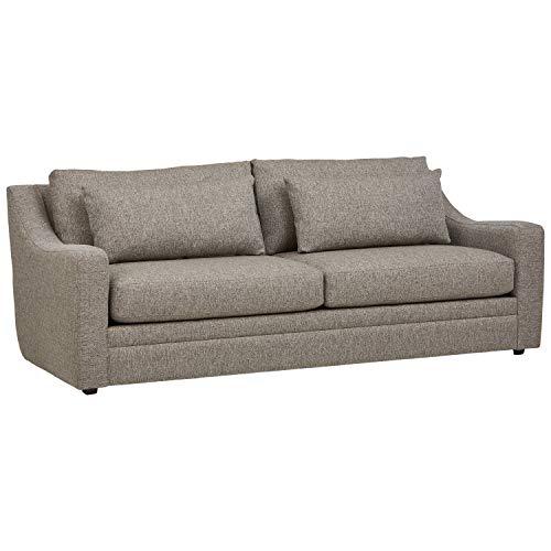 Stone & Beam Calhoun Fabric Sofa, 91'W, Ecru
