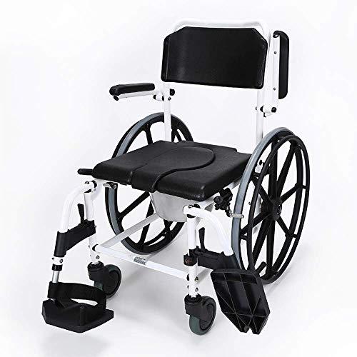 N/Z Heimtextilien Mobiler Toilettensitz Stuhl Multifunktionaler Nachttisch Kommodenstühle Verstellbarer Sitzkommodenstuhl 94