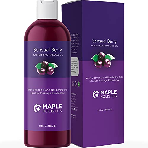 Sensual Massage Oil for Massage Therapy - Enticing Flavored Massage...