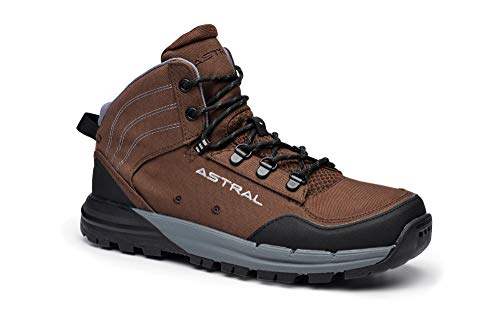 Astral, Men's TR1 Merge Minimalist Hiking Boots, Quick Drying and Lightweight, Made for Camping and Backpacking, Hickory Brown, 8 M US