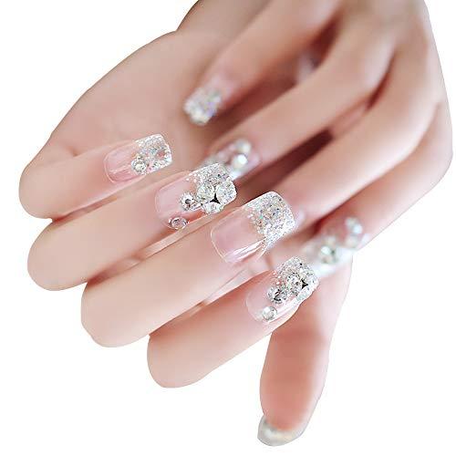 KINLOU Ongles Art Autocollants - Professionnel Adhésif Nail Art Ongles Stickers Accessoires Déco Matériel Manucure Pour Femmes