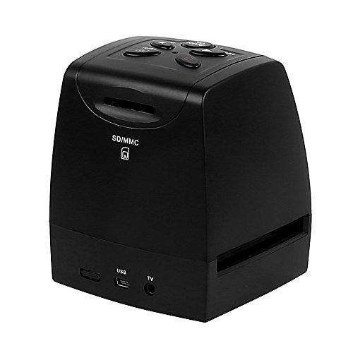 22MP Ultra High-Resolution 35mm Negative Film & Slide Converter Scanner w/2.4