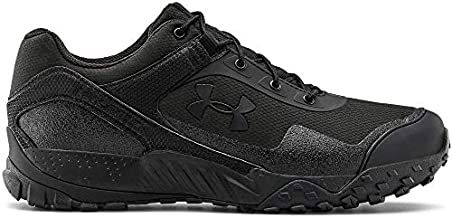 Under Armour Men's Valsetz RTS 1.5 Low Trail Running Shoe, Black (001)/Black, 14 M US