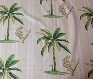 Best monkey toile fabric Reviews