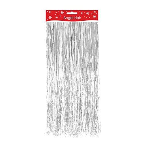 Dekoration Weihnachten Lametta Deko Rasierklinge weiß rot silver gold silber / schwarz