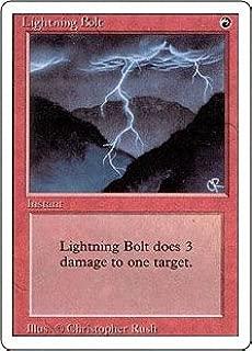 Magic: the Gathering - Lightning Bolt - Revised Edition