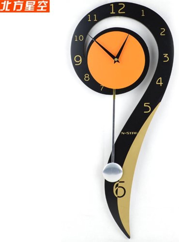 online al mejor precio Reloj de parojo,reloj de parojo vintage.Signo de interrogación símbolo símbolo símbolo jardín creativo silencioso reloj de moda sala de estar colgando mesa linda personalidad reloj de parojo decoración  popular