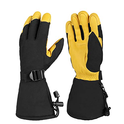 OZERO Winter Ski Snow Gloves