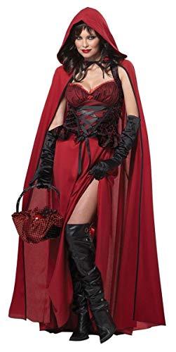 Generique - Déguisement Petit Chaperon Rouge maléfique Halloween XL (44/46)