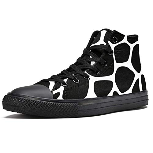 LORVIES - Zapatillas de deporte con impresión de vaca animal, (multicolor), 38 EU