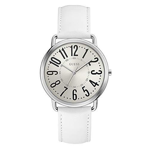 Guess Damen Analog Quarz Uhr mit Leder Armband W1068L1