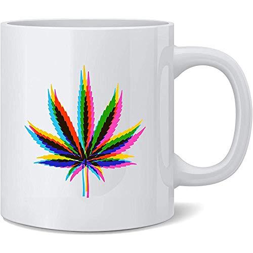 Unkraut Mirage Marihuana Pot 420 Kaffeetasse Kaffeetassen Teetasse Spaß Neuheit Geschenk