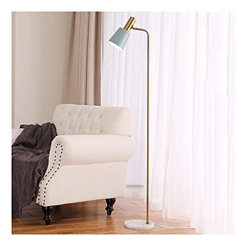 Indoor Macaron vloerlamp metalen led staande lamp marmeren base woonkamer slaapkamer verstelbare hoek moderne eenvoudige…