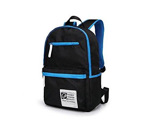 Conception simple Sac à dos pour Boys School Backpack noir