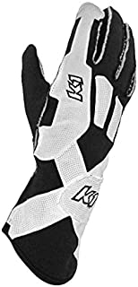 K1 Race Gear Pro-XS SFI Auto Racing Gloves (Black, X-Large)