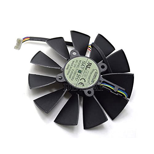 DBTLAP 95MM 4PIN 5PIN Everflow T129215SU DC 12V 0.5AMP Graphics Card Ventilador Replacement para ASUS GTX780 780TI R9280 290 280X 290X Cooler