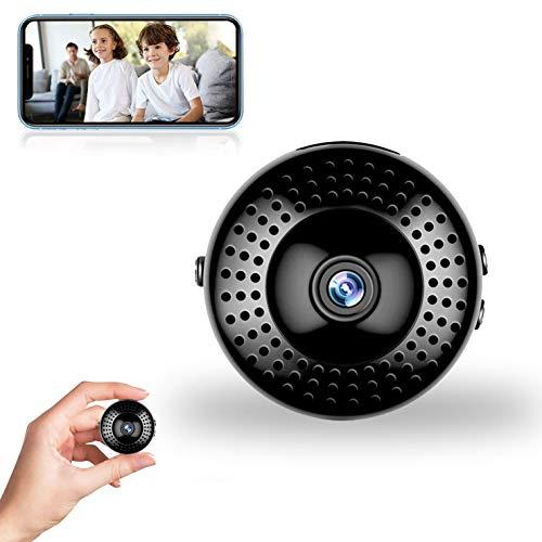 Mini-Kamera, WiFi Wireless HD 1080P-Kamera, Überwachungskamera mit Nachtsicht-Bewegungserkennungs-Sicherheits-Nanny