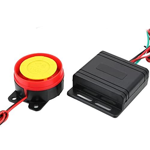SKTE Alarma Inteligente De Seguridad De 12 V para Motocicleta, Bicicleta, Coche, Llavero, Sistema De Alarma, Llave De Control Remoto, Cerradura Antirrobo para Motocicleta
