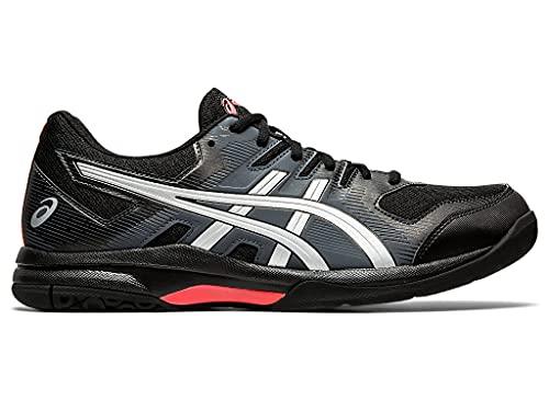 ASICS Men's Gel-Rocket 9 Indoor Court Shoes, 6M, Black/Sunrise Red
