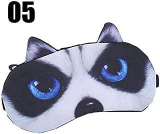 Maschera per gli occhi unicorno Cartone animato Maschera per dormire Peluche Paralume per ombretto Adatto Maschera per gli occhi per le ragazze a pelo Per viaggi Casa Regali per feste Bianco