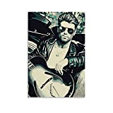 George Michael You Gotta Have Faith Leinwand Kunst Poster