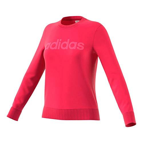 adidas Women's Essentials - Traje de Nieve con Cuello Redondo para Mujer, Color Rosa