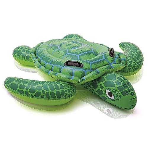Intex Lil' Sea Turtle Ride-On - Aufblasbarer Reittier - 150 x 127 cm