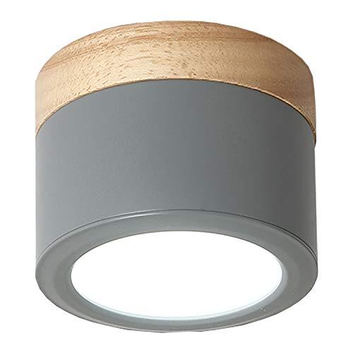 Lampadario Lampada da soffitto Nordic incasso riflettore del soffitto Lampadari Porch Aisle battuto LED del ferro della casa della luce Guardaroba Parete Decoration Apparecchio da incasso Lampada da s