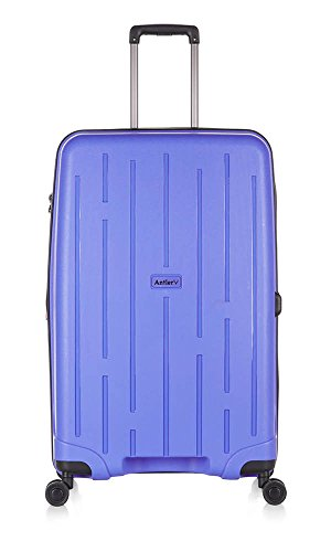 Antler Lightning Durable & Ultra Lightweight Hard Shell Suitcase Large, Purple