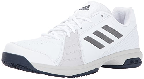 adidas Men's Approach Tennis Shoes, White, Night Met, Mystery Ink Fabric, 9 M US
