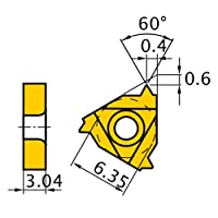 三菱マテリアル ISOメートルねじ 60°インサート MMT11IRA60-S:VP15TF 【5個入り】