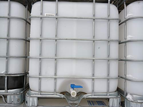 Hofer24 1000 Liter IBC Container Regentonne Wasserfass Tank