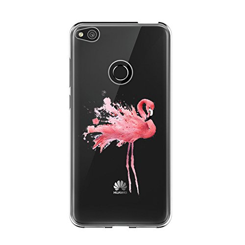Funda Diseñado específicamente para el Huawei P8 Lite 2017. Por favor, compruebe el modelo que desea, gracias. Esta funda Huawei P8 Lite 2017 está hecha de poliuretano termoplástico flexible (TPU). El material de TPU de alta calidad proporciona un ag...