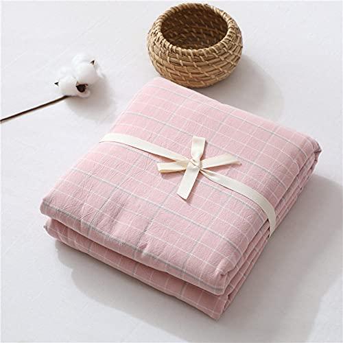 HPPSLT Protector de colchón de bambú Funda de colchón y Ajustable Sábana de algodón de una Sola Pieza a Prueba de polvo-12_120 * 200cm