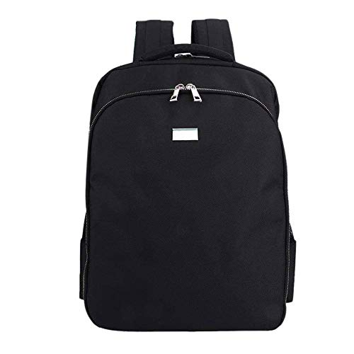 Gesh Maletín de transporte para peluquería, accesorios de gran capacidad, mochila de viaje, bolsa de hombro