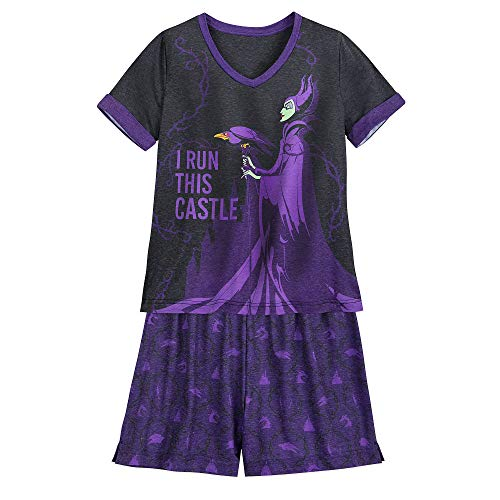 Disney Maleficent Pajama Set for Women -...