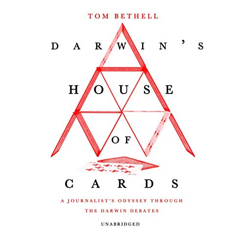Darwin's House of Cards audiobook cover art